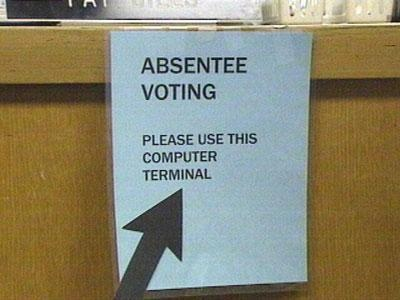 GOP bill would restrict absentee voting time