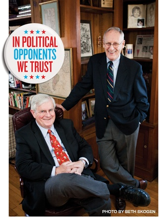In Political Opponents We Trust