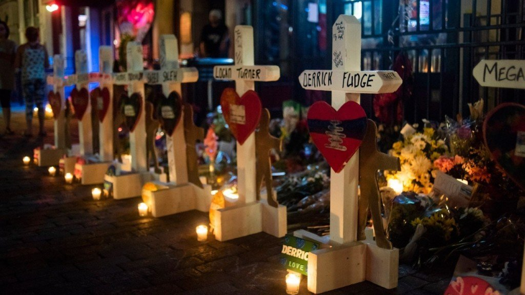 For 23 years, he's delivered crosses after massacres