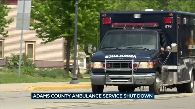 Baraboo EMS to handle 911 calls in Adams County another 2 weeks