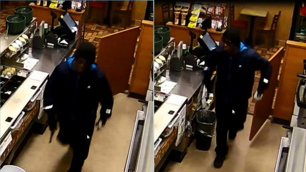 Police offer cash reward for info on armed robbery of Subway
