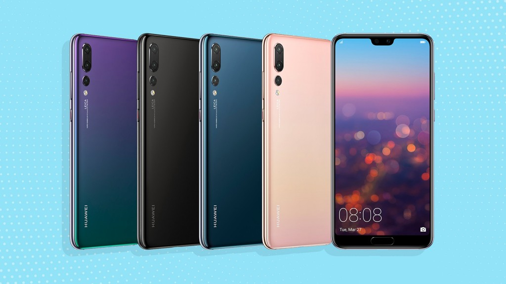 Huawei's new smartphone uses 3 cameras to take a single photo