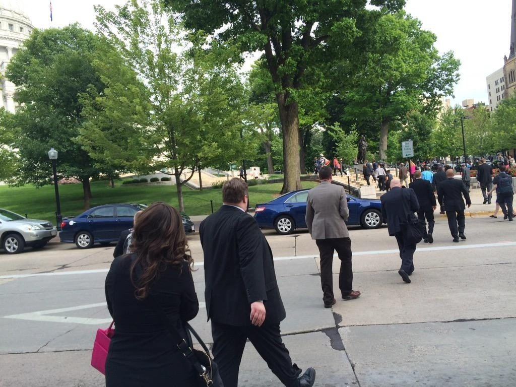 PHOTOS: Capitol evacuated for 'credible bomb threat'