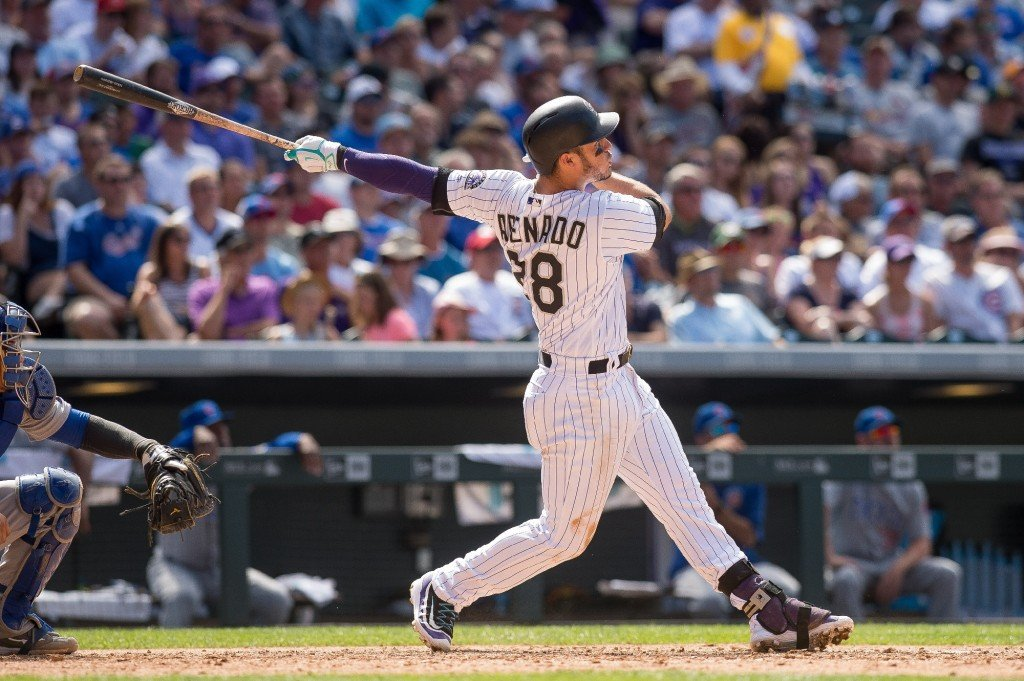 Arenado hits two three-run HR's as Rockies crush Cubs