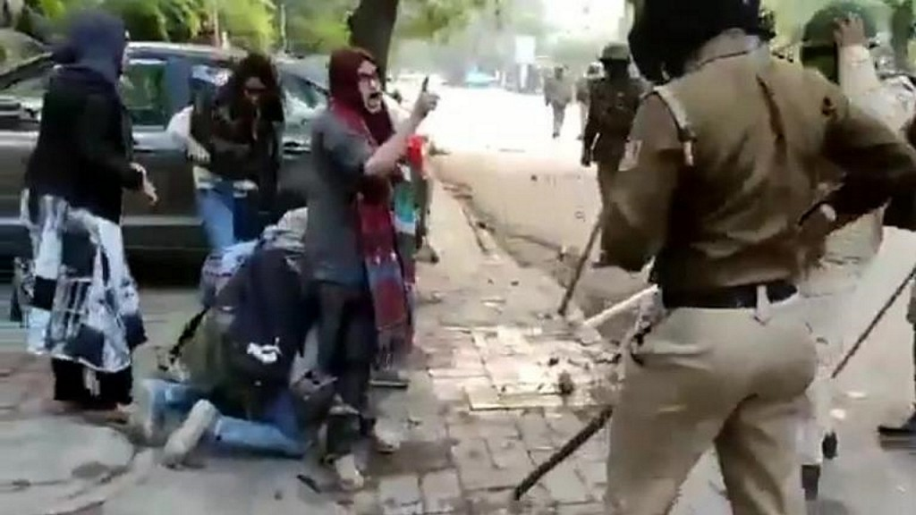 Women at center of viral video say India will not be divided