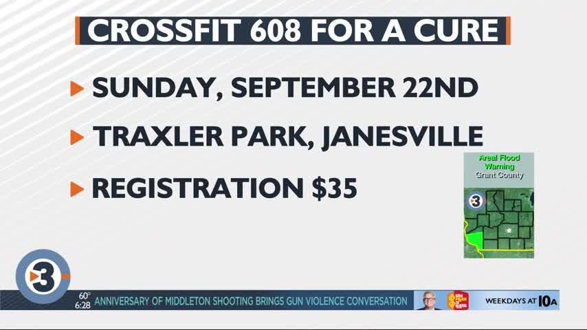 CrossFit 608 teams up with Janesville PD to raise funds for a cure