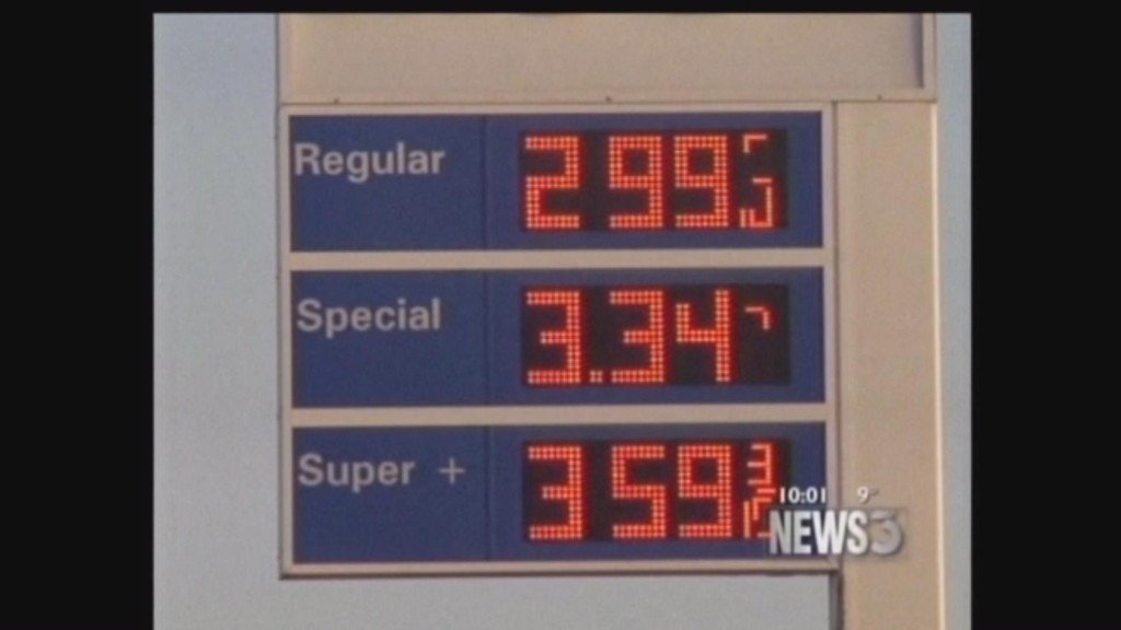 Drop in gas price gift for holiday season