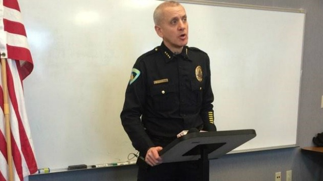 Police chief announces structural change to address violent crimes