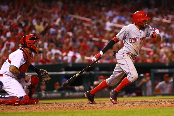 MLB roundup: Reds' Hamilton runs wild against Cardinals