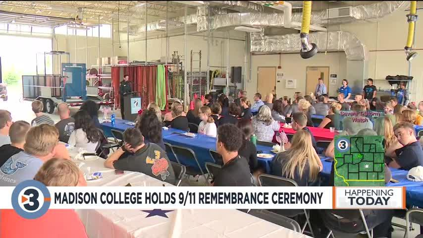 Madison College holds 9/11 remembrance ceremony