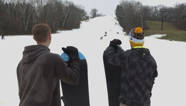 Let it snow: Skiers, snowboarders celebrate long-overdue snowfall