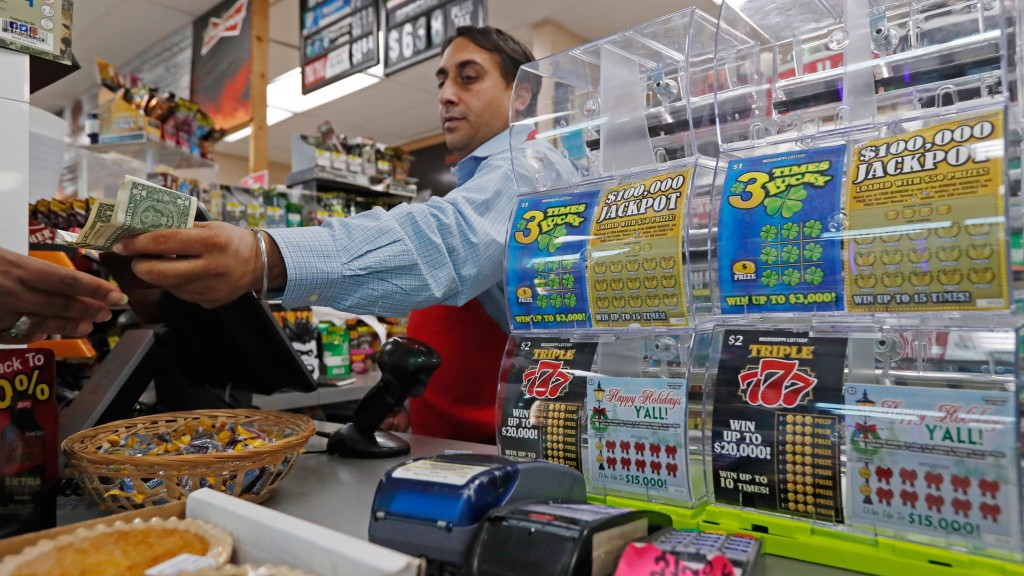 Mississippi just began selling its first-ever state lottery tickets