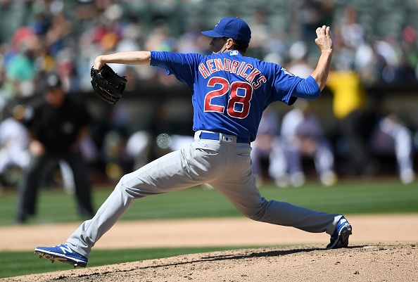 Cubs sweep A's in Oakland