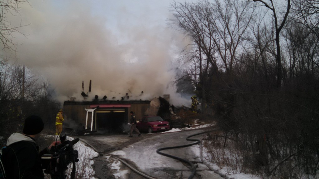 House destroyed, pets die in house fire
