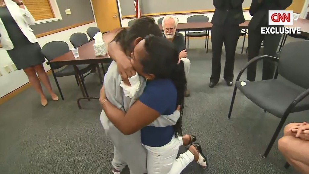 Mother, daughter reunited after 55 days apart