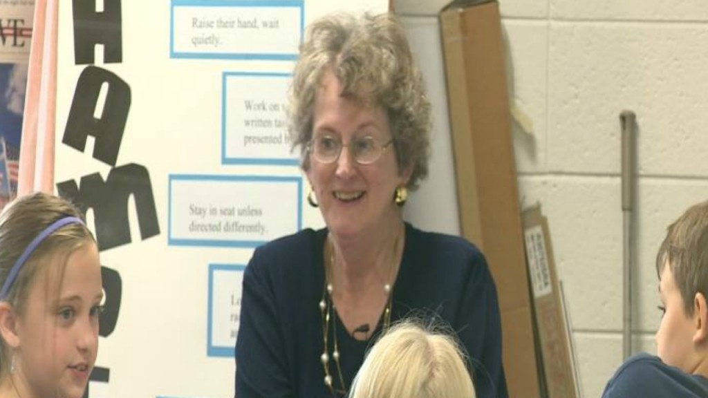 Teacher of 46 years decides to come back for another year