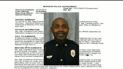 Officer punished for using database to contact woman