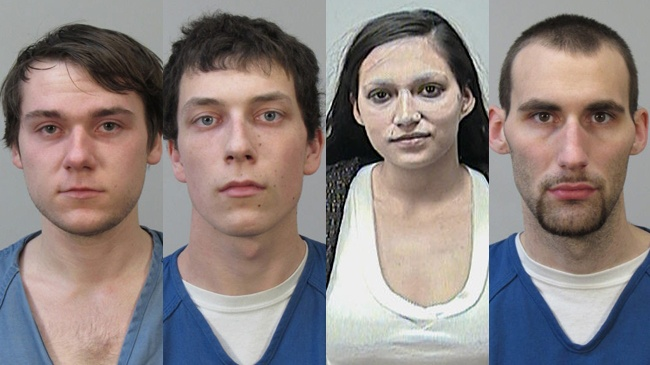 4 arrested in home burglary investigation