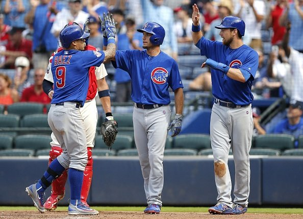 MLB roundup:  Cubs hammer Braves in last game at Turner Field