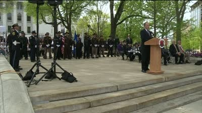 Ceremony honors 266 fallen officers in Wisconsin