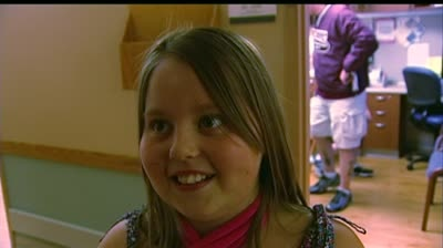 Janesville girl uses positive attitude to overcome arm injury