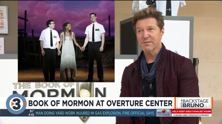 Backstage with Bruno: 'The Book of Mormon'