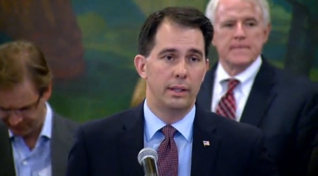 Walker to sign budget on Sunday
