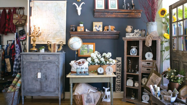 Studio 184 is a haven for collectors and DIYers