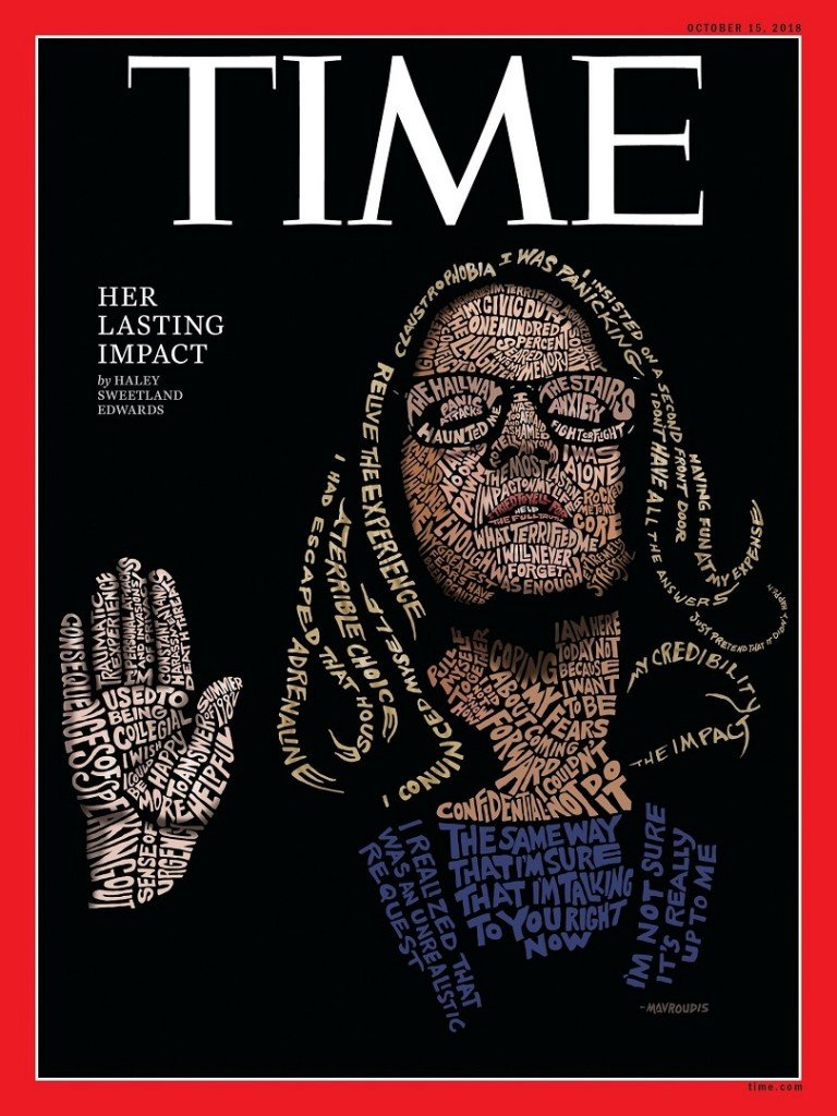 Time magazine puts Christine Blasey Ford on the cover