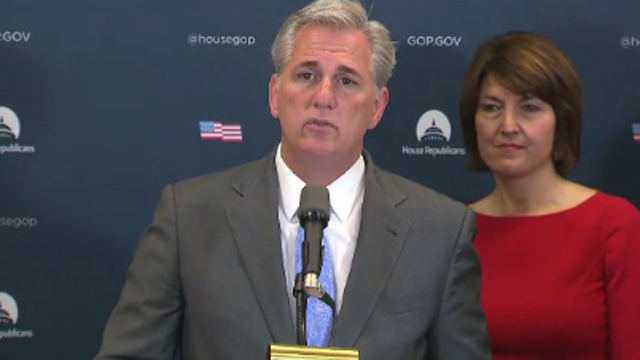 McCarthy on Nunes memo: 'I can't predetermine' what the President will do