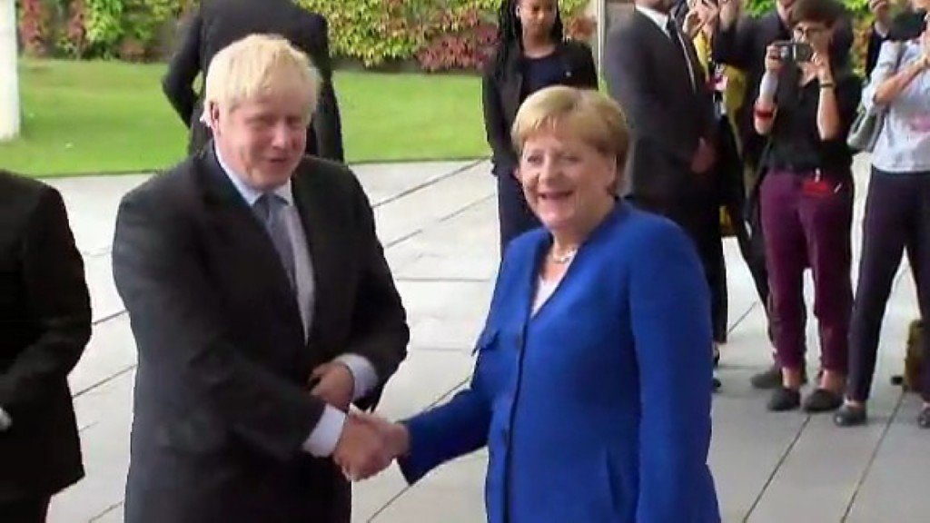 Merkel delivers Brexit ultimatum to Johnson