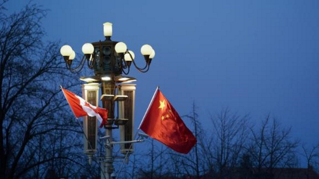 Canadian citizen detained in eastern China
