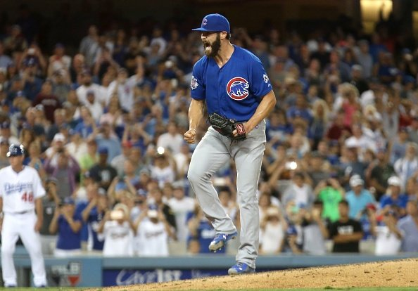 MLB roundup: Cubs' Arrieta no-hits Dodgers