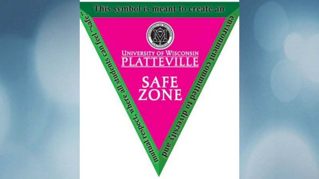 UW-Platteville chancellor: Safe Zone signs on campus removed without permission