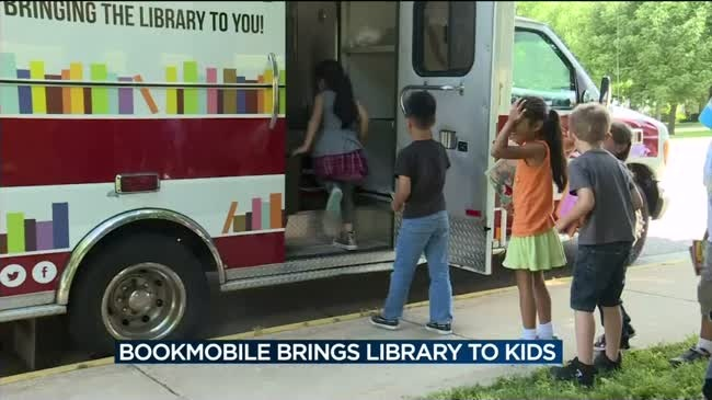 Bookmobile makes it easy to keep students reading during summer