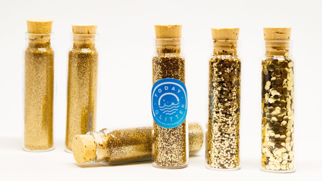 Chemical engineer sells eco-friendly alternative to glitter