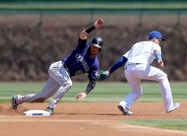 Cubs bats go silent against Chatwood, Rockies
