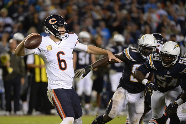 Cutler sets Bears record with 138th touchdown pass
