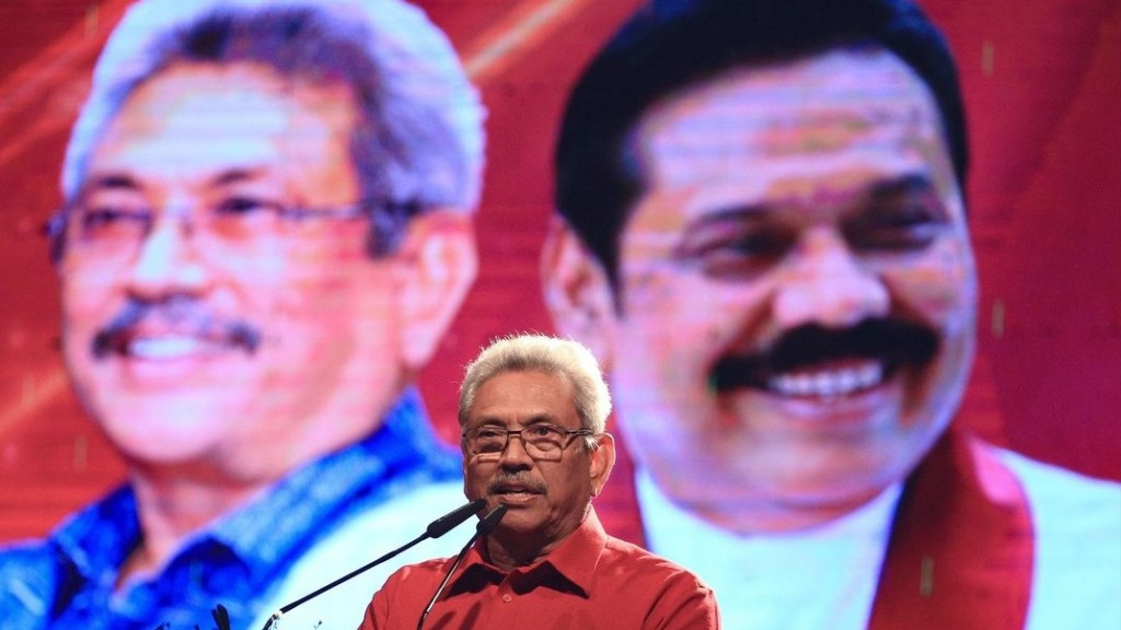 Sri Lanka chooses new president in first election since deadly bombings