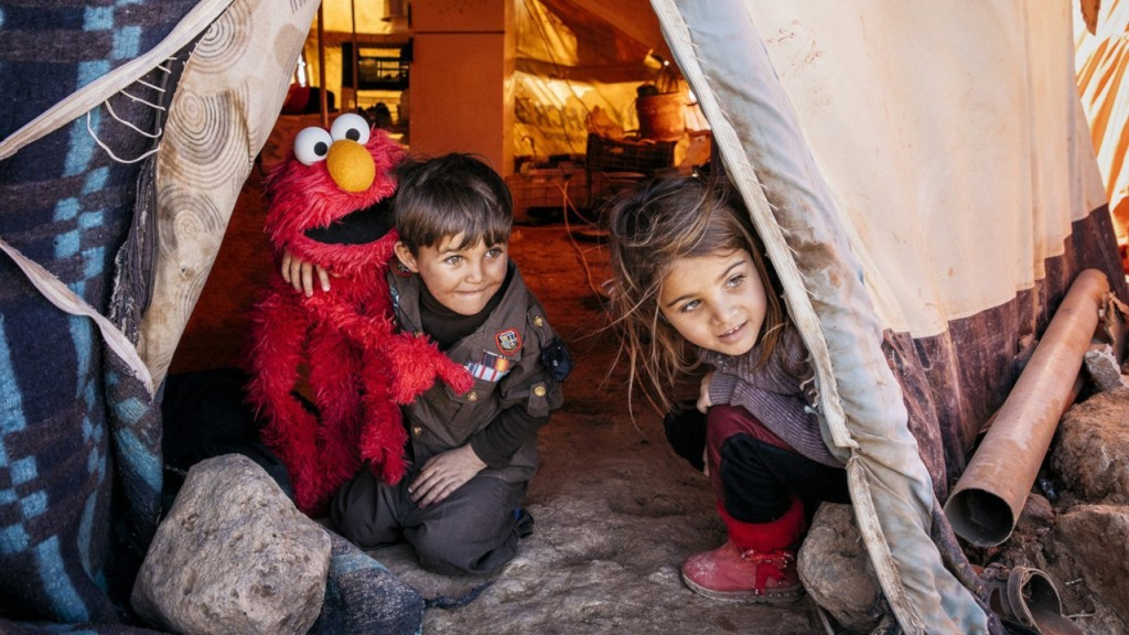LEGO, 'Sesame Street' join forces to teach refugee kids