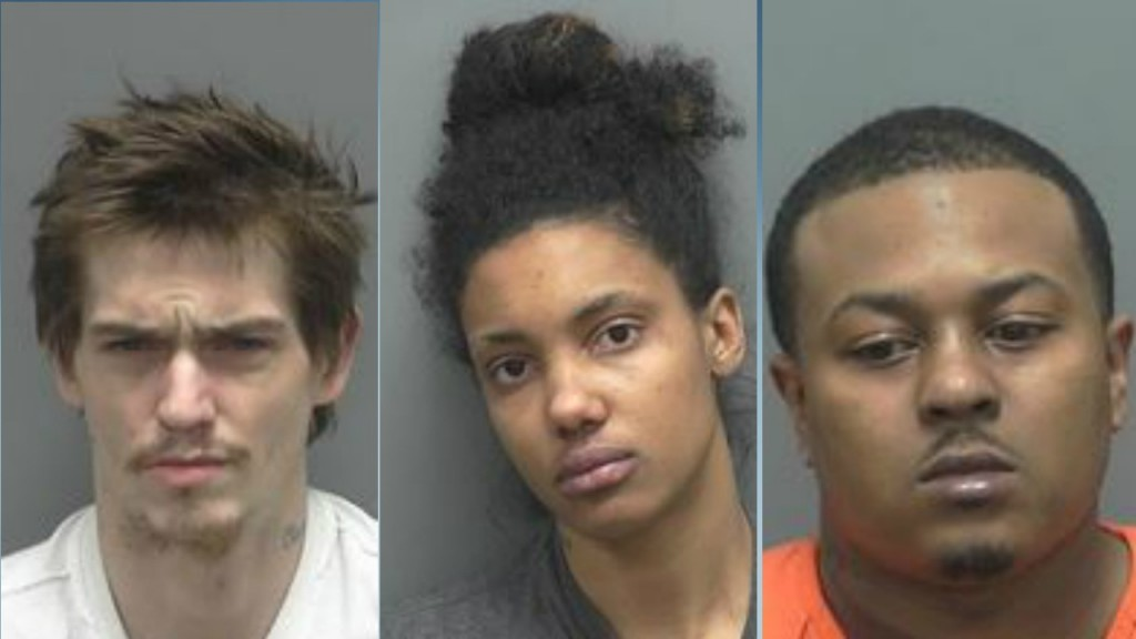 3 face drug charges after deputies find heroin during search