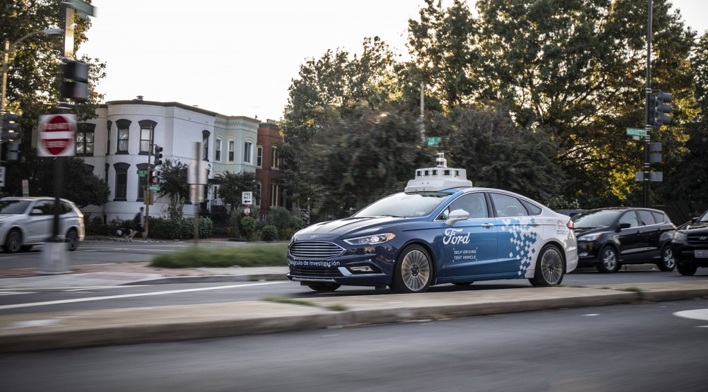 Ford to test self-driving cars in Washington DC