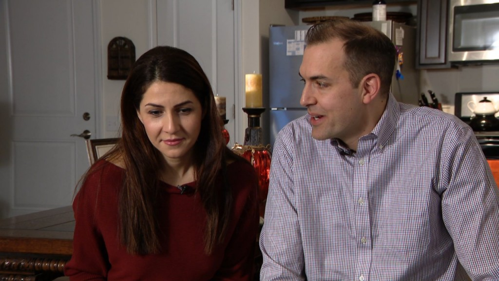 Separated for 16 months over immigration confusion, couple reunited
