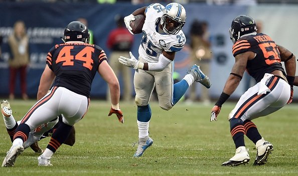 Hoyer leads way as Bears beat Lions 17-14 for 1st win