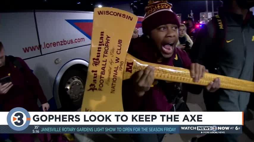 Gophers look to keep the axe
