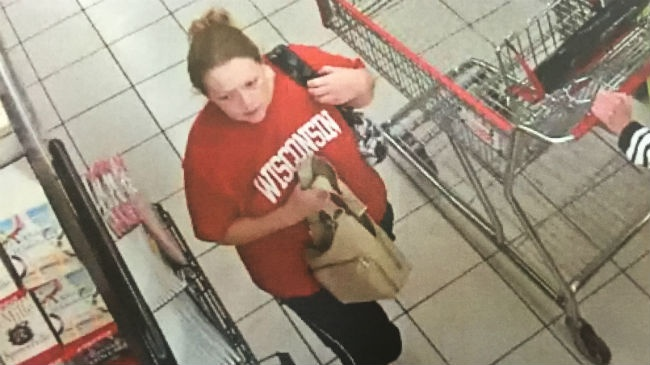 Police looking for department store purse snatcher