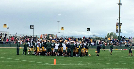 Training camp report No. 14: Thursday, Aug. 20, 2015