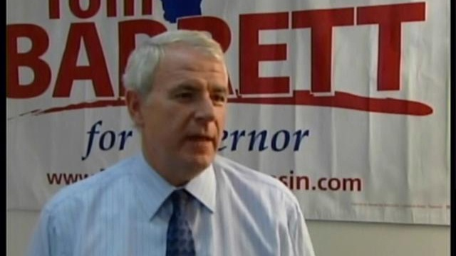 Recall supporters march to show support for Barrett