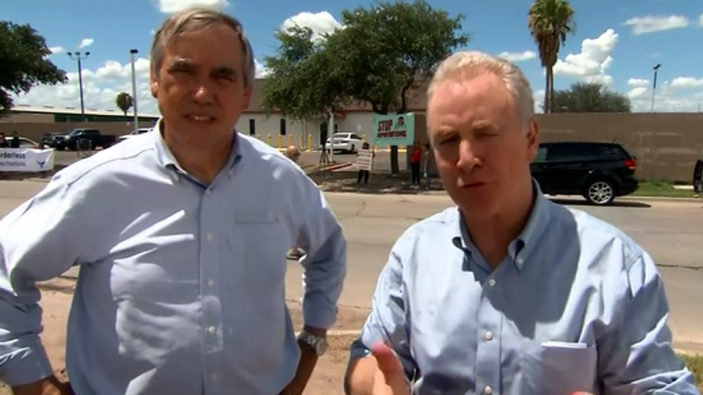 Democratic lawmakers angry with what they saw in South Texas