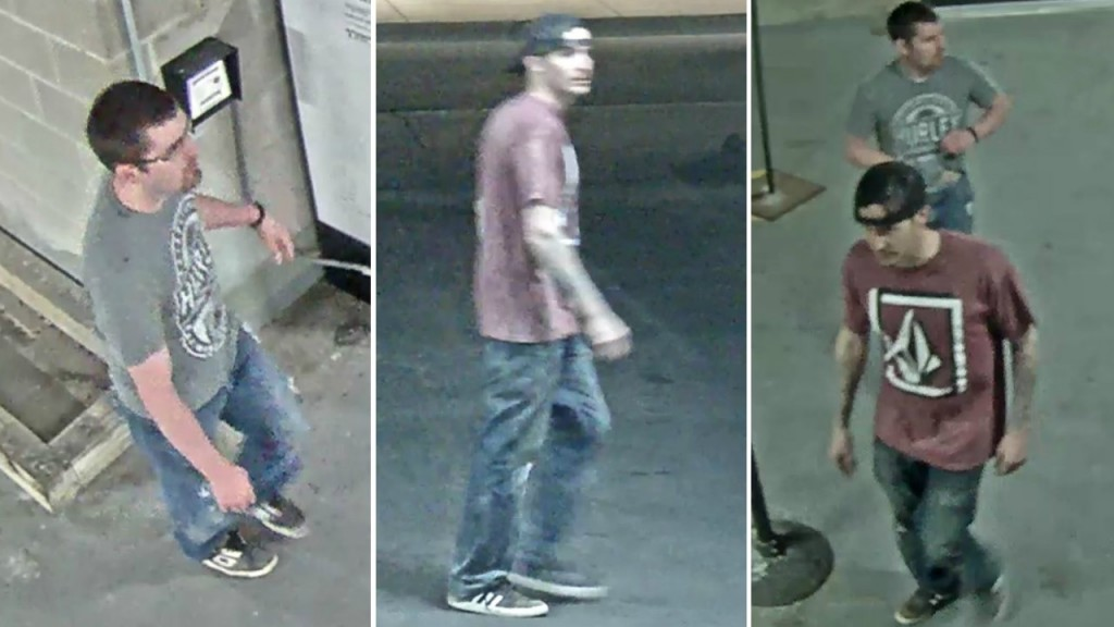 UWPD seeks identity of damaged property suspects from surveillance video